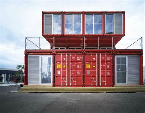 puma city shipping container store lot ek archdaily puma city shipping container store by lot ek interior