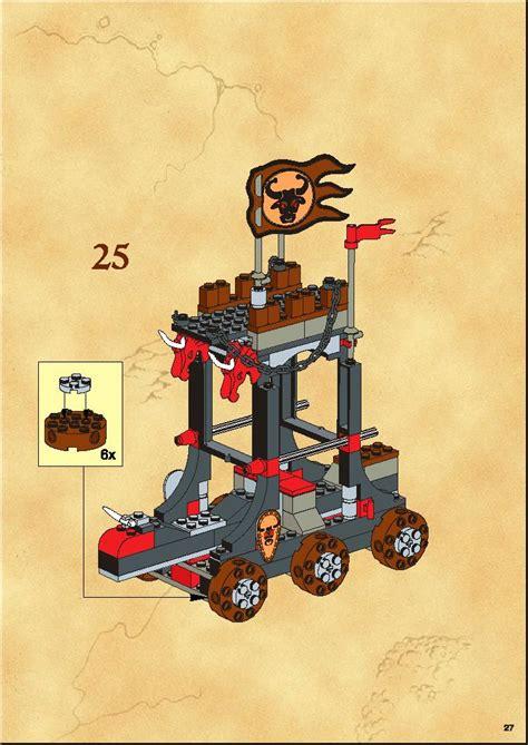 Lego Castle 6096 Bulls Attack lego bulls attack 6096 knights kingdom