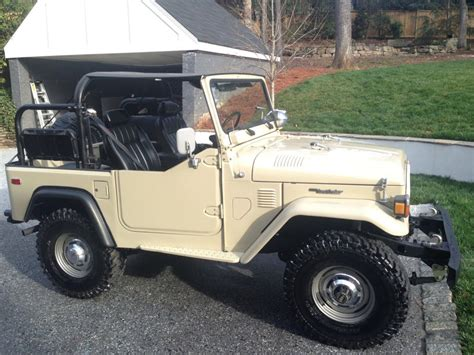 1981 Toyota Land Cruiser 1981 Toyota Land Cruiser Fj40 Clean F Land Cruiser Of