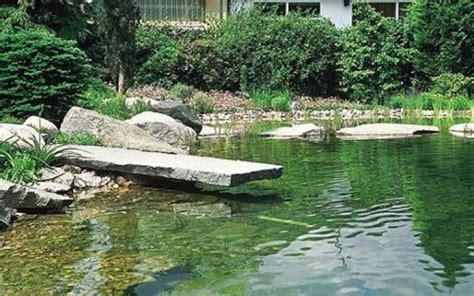 natural backyard pond how to calculate volume for a water garden pond the jb