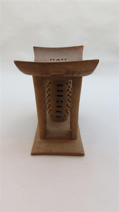 ashanti stool decorative modern