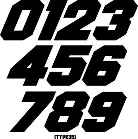motocross race numbers custom mx number plate decals motocross stickers