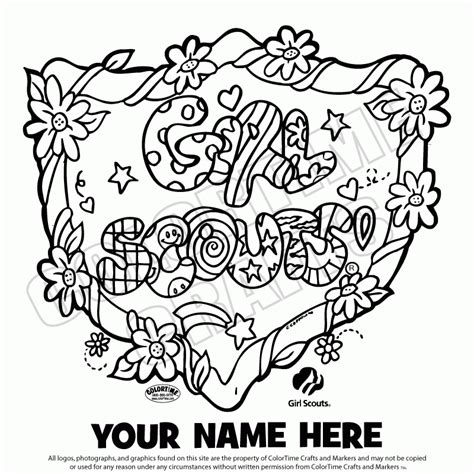 Daisy Girl Scouts Coloring Pages Free Coloring Home Scout Coloring Pages For Daisies Printable