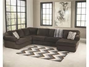3980434 jessa place chocolate signature design living room armless loveseat