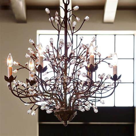6 light crystal chandelier fixtures retro branches crystal chandelier 6 light pendant