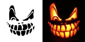 scary pumpkin carving stencilss patterns
