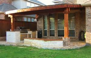 brick and wood porch columns home design ideas