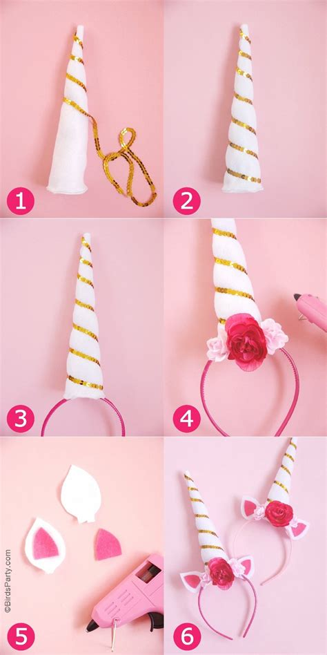 diy unicorn diy unicorn headbands ideas