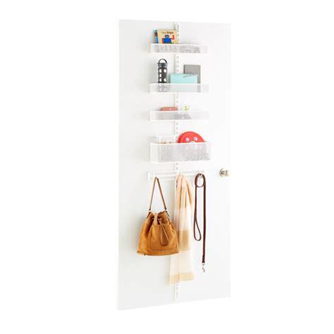 Elfa Wall Rack by White Elfa Utility Mesh Door Wall Rack System Components