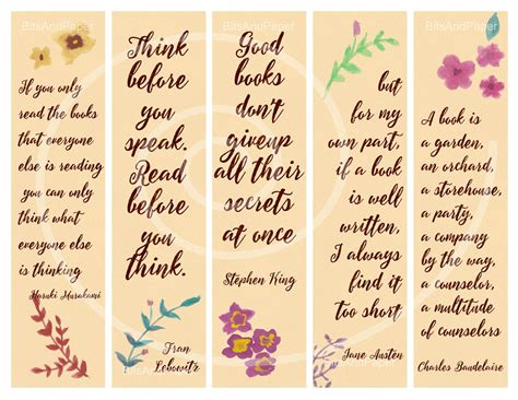 printable good reader bookmarks free printable bookmarks with quotes beautiful printable