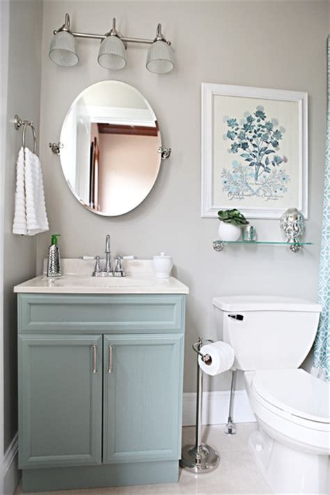 half bathroom paint ideas to da loos a dozen fun blue bathroom vanities