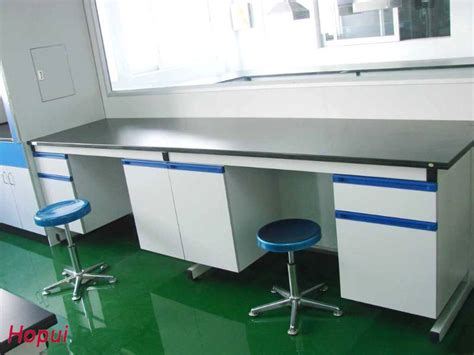 bench science school science laboratory wall bench with 19mm epoxy resin