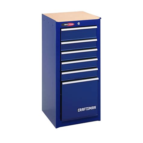 Craftsman Side Cabinet by Craftsman 6 Drawer Glide Side Cabinet 15 3 4 In