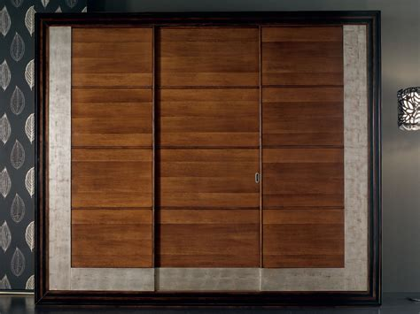 Wooden Sliding Wardrobe Doors by 201 Toile Wardrobe By Cantiero Design Arbet Design