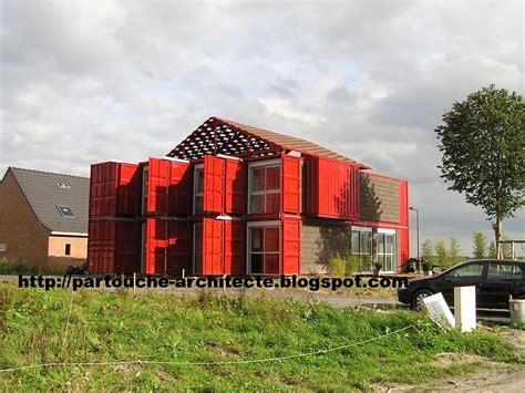 Maison Conteneur by 1000 Id 233 Es Sur Le Th 232 Me Container Habitable Sur
