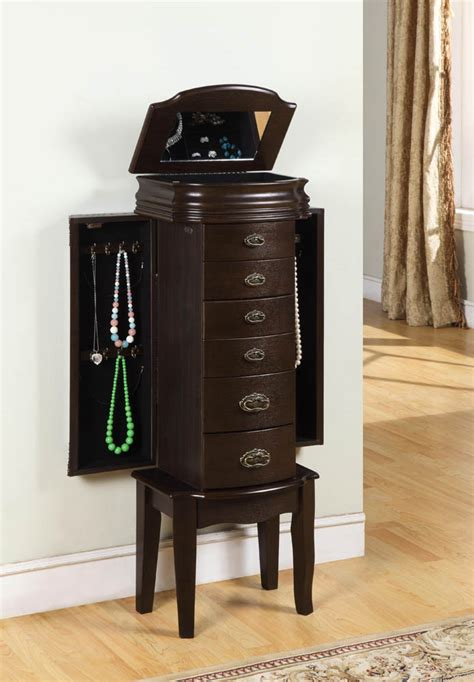 jewelry armoire espresso italian jewelry armoire espresso 358 315 decor south