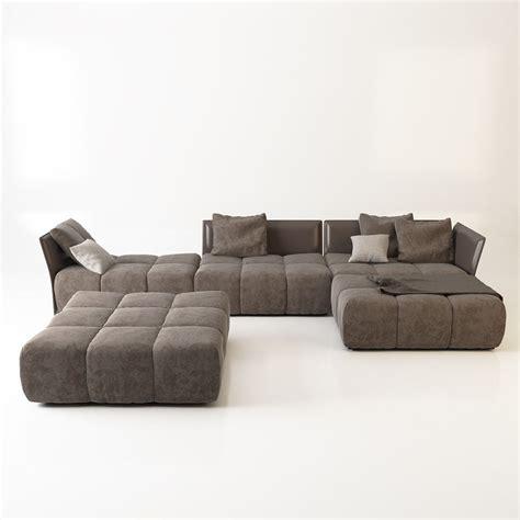 pixel couch sofa saba pixel 3d model max obj fbx mtl cgtrader com