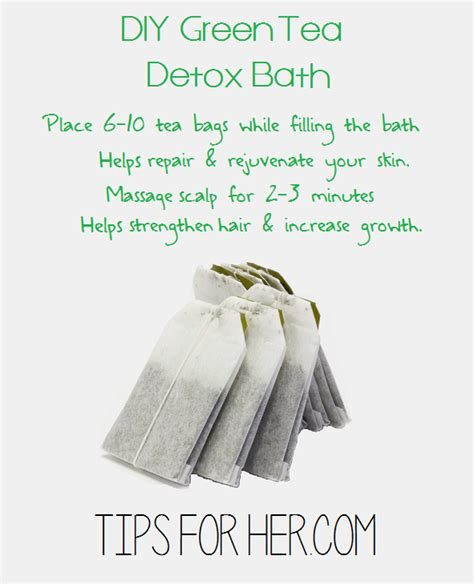 Green Tea Detox Bath by Diy Green Tea Detox Bath