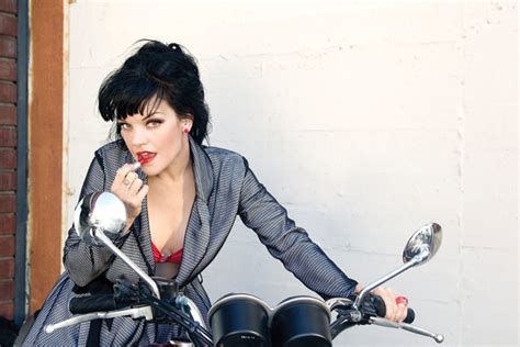 does pauley perrette have tattoos crime does pay for pauley perrette viva magazine