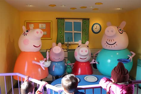 peppa mania being mummy pig and bratty next door diners