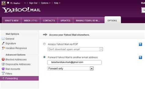 email yahoo forwarding latest tips and tricks 6 forward all yahoo mail emails to