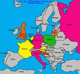 Europe On The Map by Map Of Europe Map Pictures