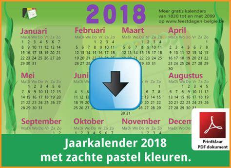 Kalender 2018 Hessen Word Kalenders 2018 Gratis Downloaden En Printen Feestdagen