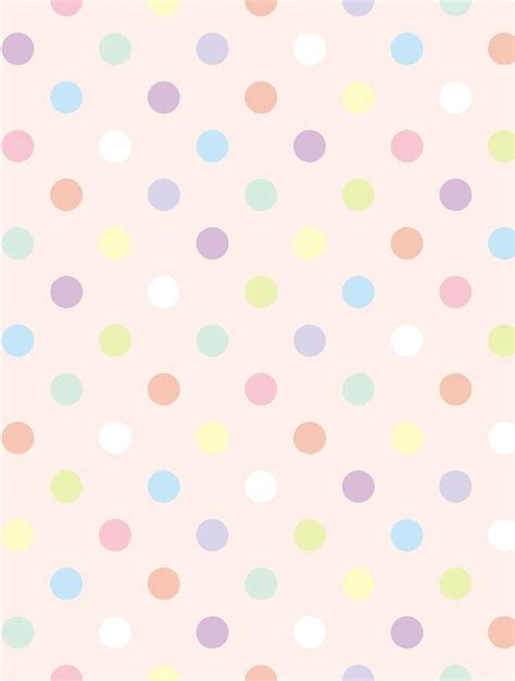 dot pattern pastel the gallery for gt pastel pink polka dots wallpaper