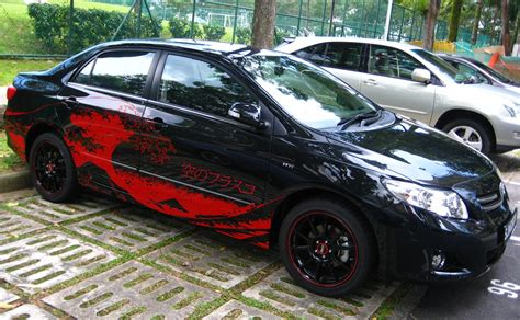 Sticker Scorpio 2011 Striping Scorpio 2011 Merek Ajs cool cars and great decals waterproof paper