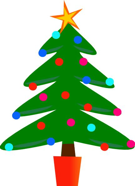 christmas tree cartoon ria9dedil public domain free tree clip borders clipart panda free clipart images