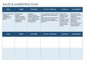 Sales And Marketing Plan Template Free Sales And Marketing Plan Template Themesclub Net