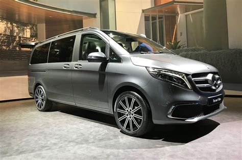 Mercedes Vito 2019 by New 2019 Mercedes V Class Mpv Gains More Power Autocar