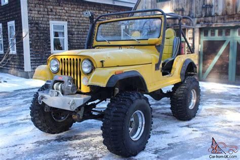offroad jeep cj jeep cj 5 off road 4 wheel rock crawler