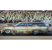SWAMP THING  Chopped Rusty Nitrous Wagon YouTube