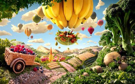 Landscape With Food 食べ物を使って撮った風景がとってもファンタジー 写真家カール ワーナー Naver まとめ