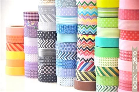 Washing Tape by Brightnest 7 Wonderful Ways To Use Washi Tape