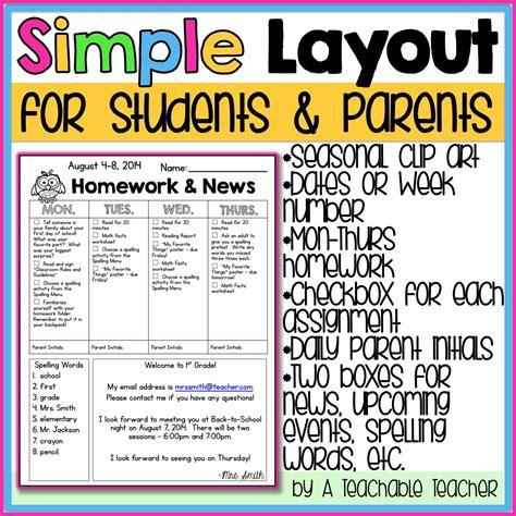 Away Message Homework by Newsletter Template Homework Template And School