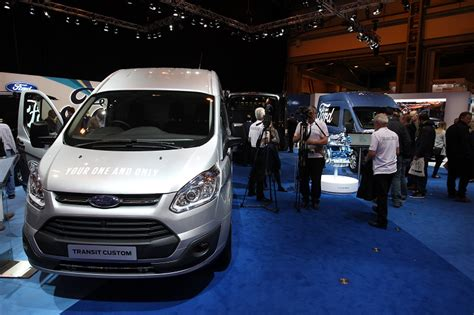of new launches at cv show 2016 business vans