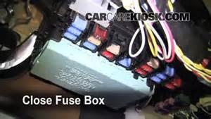interior fuse box location 2003 2008 pontiac vibe 2008