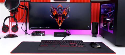 Best Computer Gaming Desk 2017 Best Gaming Desk Guide Computer Desk Guru