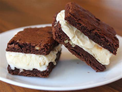 cara membuat ice cream waffle resep cara membuat brownies sandwich ice cream
