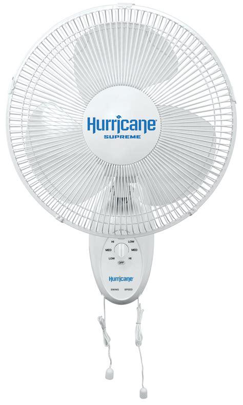 hurricane wall mount fan hurricane supreme oscillating wall mount fan 12 in