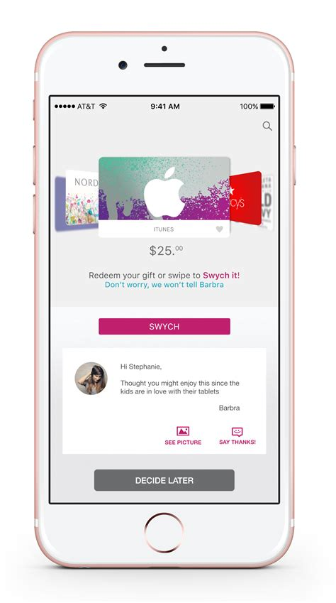 Where Can I Get Apple Store Gift Cards - world s first digital gift cards you can give get and instantly swych to any