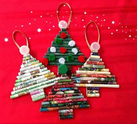 193 rbol navidad enrollando papel manualidades para ni 241 os
