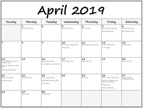 april  holidays calendar holiday calendar holiday printable templates editable calendar