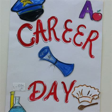 themes for college day career day poster letter ideas pinterest