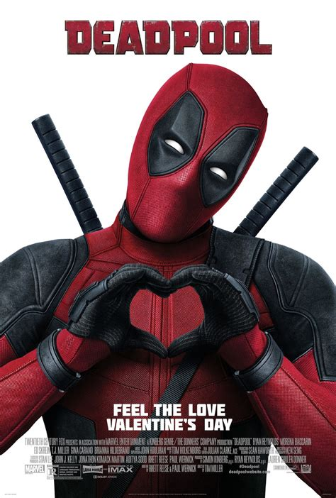 deadpool poster now we that everyone lists so here we go