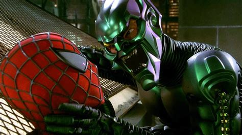 spiderman vs goblin film ita the green goblin proposal rooftop scene spider man