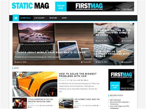 wp theme blog magazine 25 free latest premium magazine wordpress themes for 2017