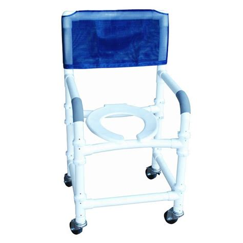 18 pvc shower commode chair knock
